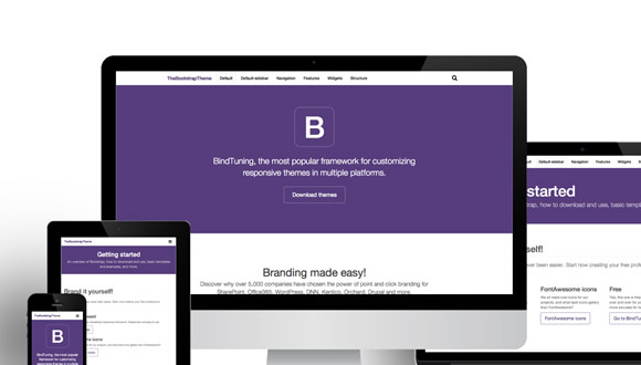 Blog archives bertylbliss for Bootstrap intranet template